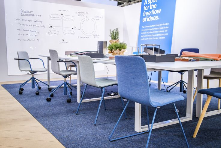 Collaboration area with Sola chairs