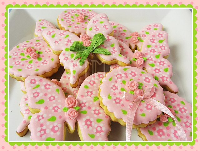 73 best Flower Cookies images on Pinterest | Decorated ...