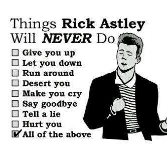 Rick's the man.: Things Rick, Laughing, Rickastley, Songs, Funny Stuff, Humor, Funnies, Rick Rolls, Rick Astley