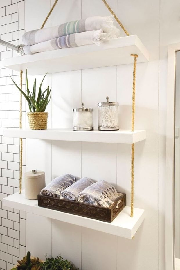 45 Hangende Badezimmer Speicher Ideen Fur Die Maximierung Ihres