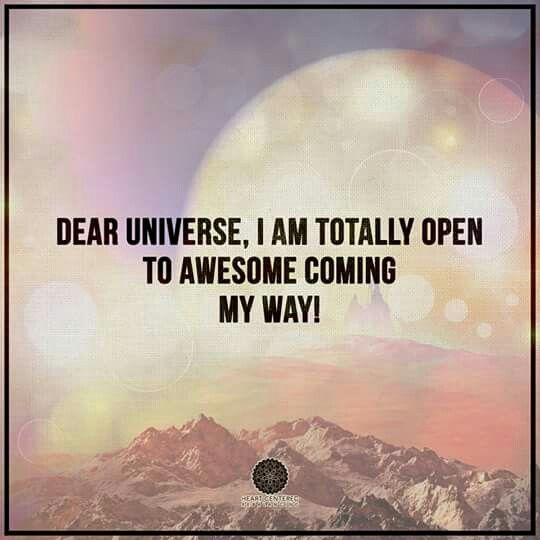 path of allowing... aligning to miracles of the universe. love you! thank you!