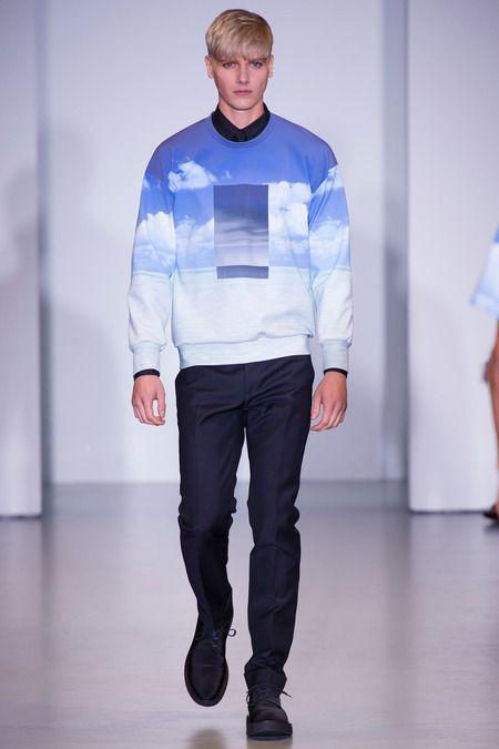 #Calvin Klein #ss014 #menswear