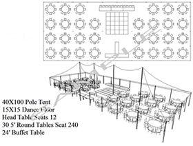 TENT RENTALS - Crown Party Rental. Port Huron Party & Tent Rentals