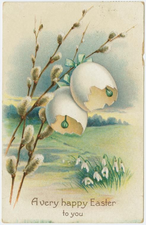 A happy Easter to you. (ca. 1909)