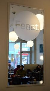 Feast on the Hill cafe, great for Sunday brunch