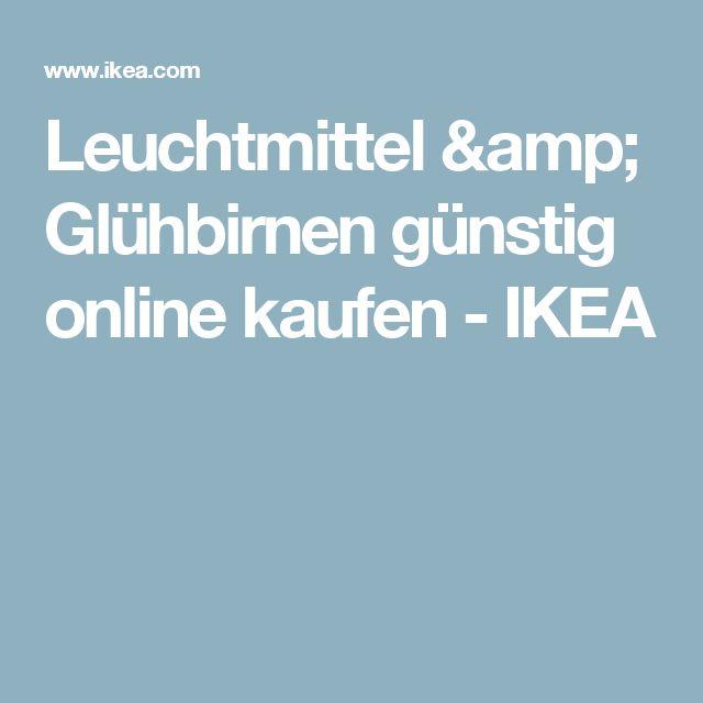 Leuchtmittel & Glühbirnen günstig online kaufen - IKEA