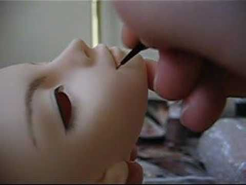 BJD Faceup Tutorial - YouTube