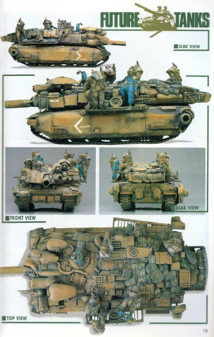 Future Military Tanks Rocketumblr (小林誠...