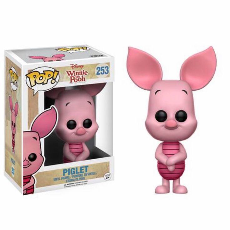 Piglet Funko Pop Vinyl figure from Disney classic Winnie the Pooh Brought to you by Pop In A Box, the site Funko Pop! Vinyl shop