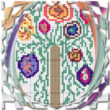 In blossom wild tree cross stitch pattern by CamisTheCrossStitch