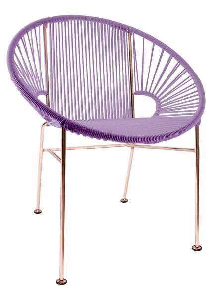 Concha Chair - The Concha Chair is a contemporary dining or café chair that's stylish enough to do double-duty as a cool guest chair in your living room or office.
