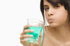 Полоскания с лекарством при зубной боли