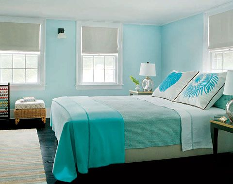 love the shades of turquoise
