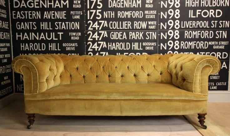 vintage chesterfield - Google zoeken