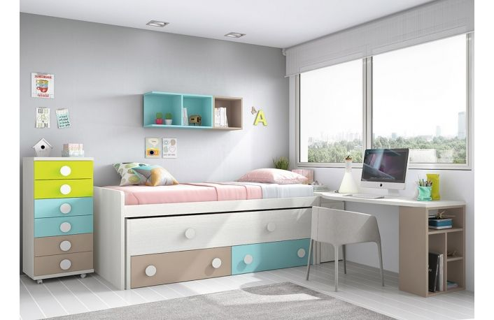 The 25 best habitaciones juveniles peque as ideas on - Decoracion habitaciones pequenas juveniles ...