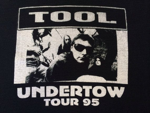 TOOL Shirt 1995 UNDERTOW Tour/ Extremely RARE by sweetVTGtshirt