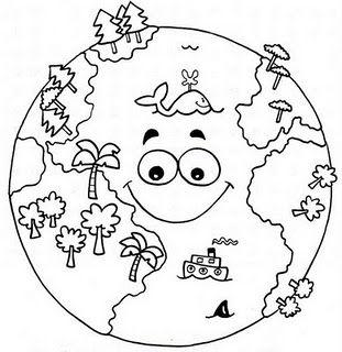 planeta terra desenho para colorir - Pesquisa do Google