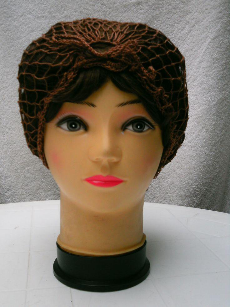 Malla para cabello en algodón.
