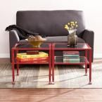 Red Coffee Table, Red Finish