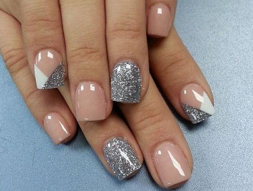 Resultado de imagen para diseños de uñas cortas