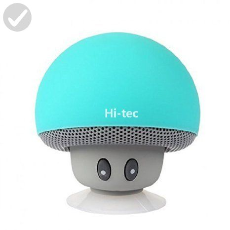 Wireless Bluetooth Speaker, Hi-tec Mushroom Bluetooth 4.1 Speaker, with Hands-free Talk & Phone Stand for Gifts (Sky blue) - Audio gadgets (*Amazon Partner-Link)