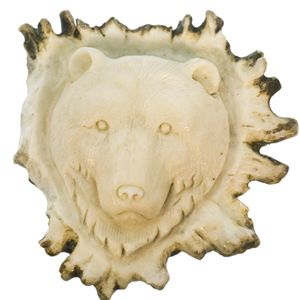Bear Totem in Carved Moose Antler