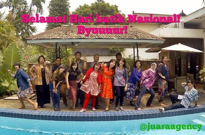 Happy Batik day !