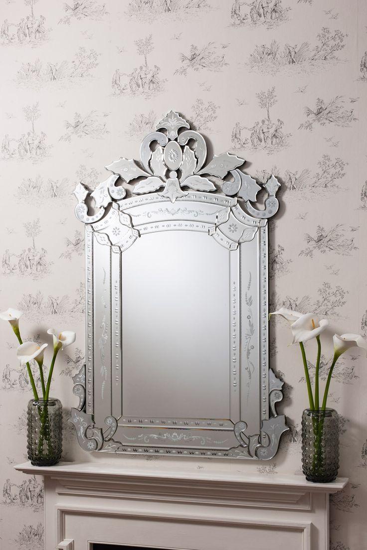 Espejo veneciano Leyfield en Ámbar Muebles