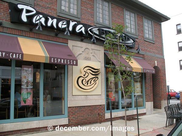 Panera Bread - BBQ chicken salad, tomato mozzarella panini, carrot cake muffin -- ooh la la !!! (there's one at 10 Union Sq. E., NYC 10003)