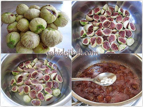 Olgun incir reçeli yapımı