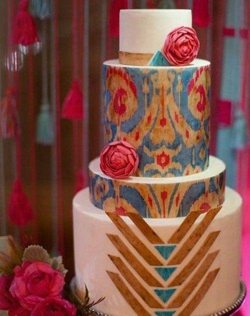 35 Jaw-Dropping Geometric Cake Designs For A Modern Wedding