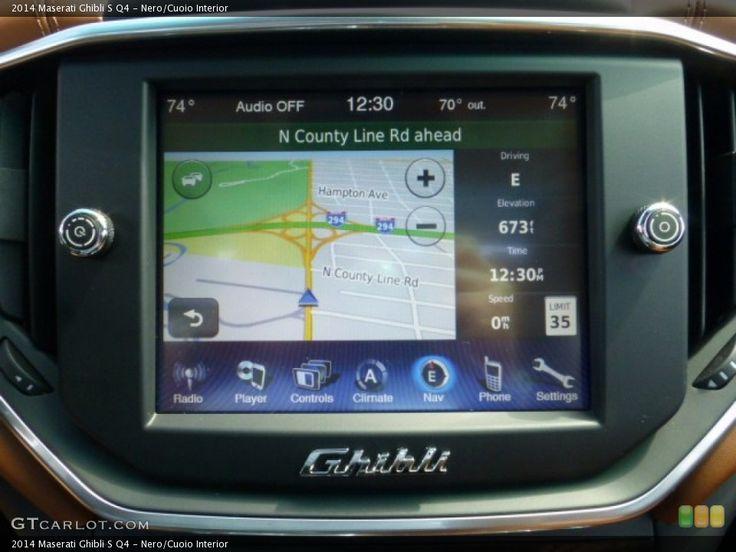 maserati navigation screen - Google Search