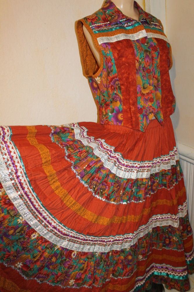 Vintage Mexican Skirt 72