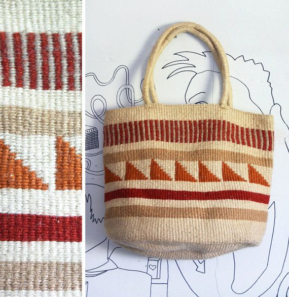 Vintage 1970s Tribal Southwestern Style Woven by GadzinasHamper, $57.00  I own one just like this from the 80's!