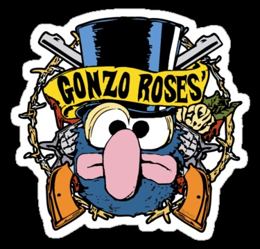 Gonzo roses by mcnasty redbubble