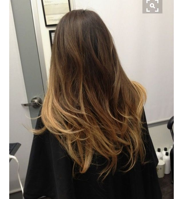 Billedresultat for straight hair balayage