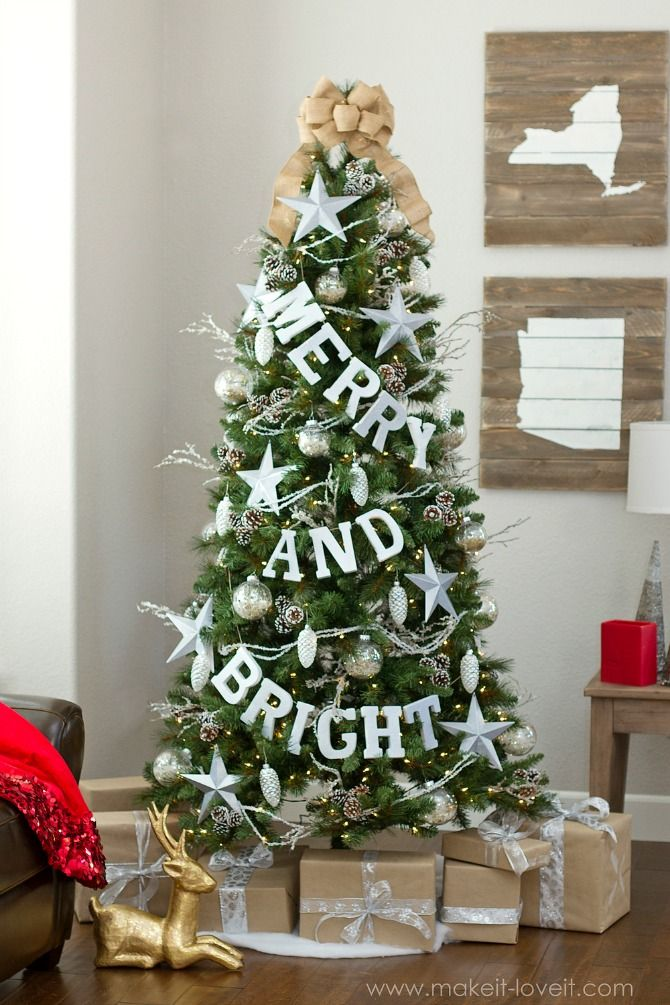 Christmas Tree Garland Ideas.15 New And Unexpected Christmas Tree Garland Ideas