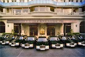 High tea at the Peninsula in Hong Kong! A fleet of rolls royce cars outside. Best high tea I've ever had