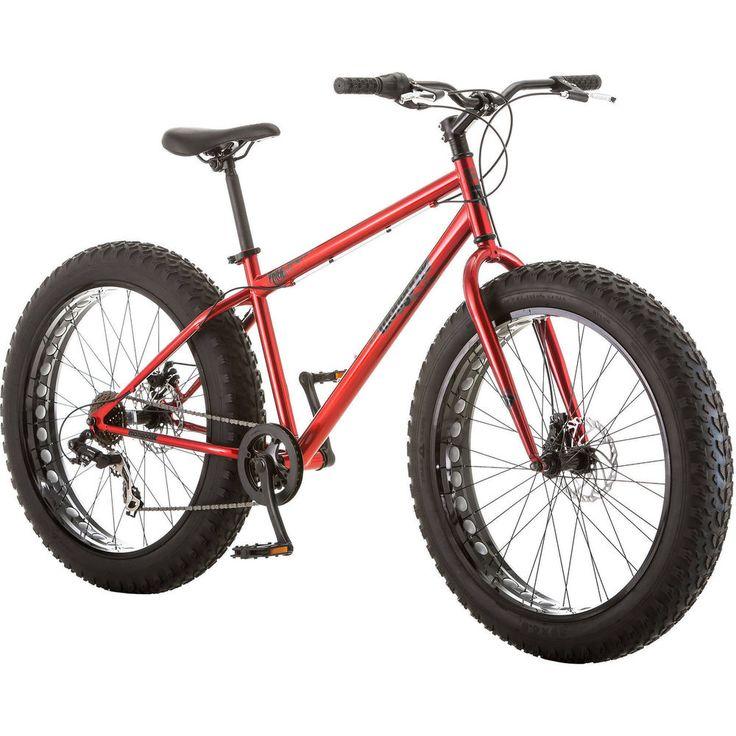 Bike Bicycle 26'' Fat Tire Bike Mountain All Terrain Outdoor Sports Riding NEW  #Mongoose