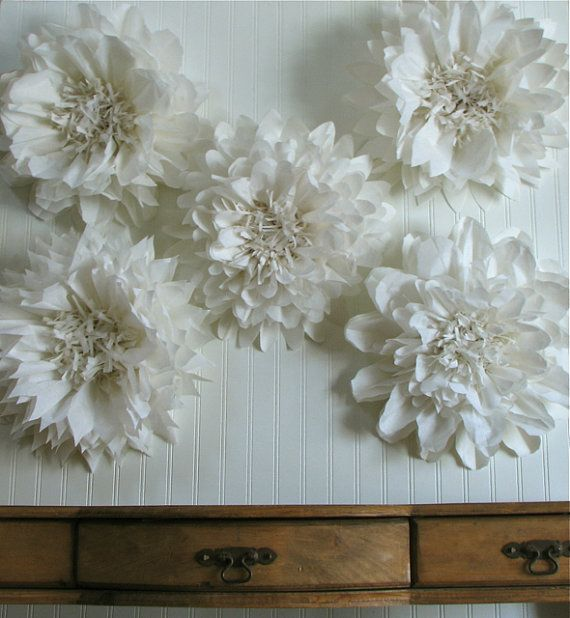 Wall Decor Tissue Paper : Create a flower wall back drop or hang giant tissue paper