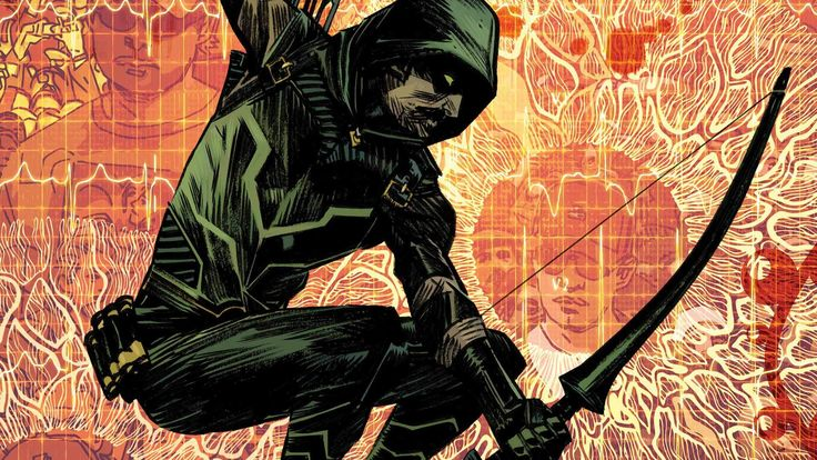 green arrow computer wallpaper