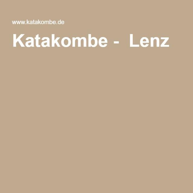 Katakombe - Lenz