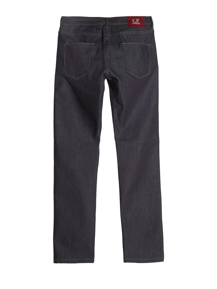 C.P. Company Regular Fit Indigo Selvedged Jeans