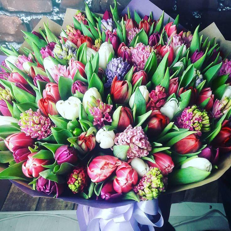 Турецкие тюльпаны букет фото