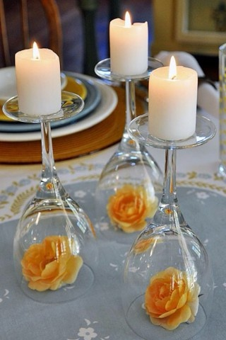 rehearsal dinner, personal shower centerpieces
