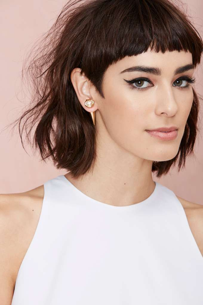 full fringe hairstyles