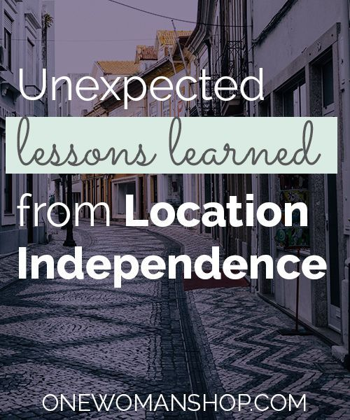 Digital nomads share the unexpected lessons they've learned while being location independent