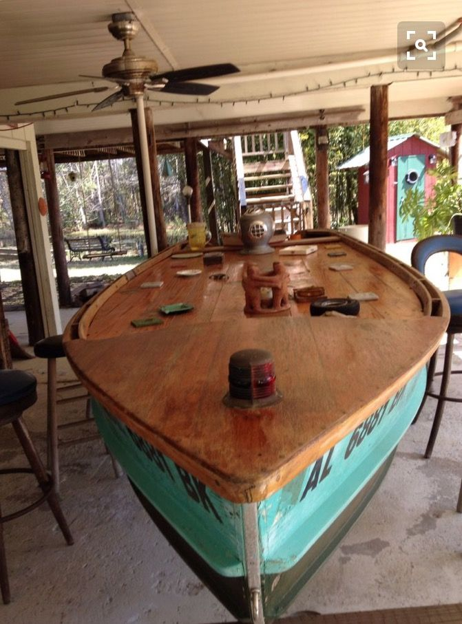 Boat bar outdoors pinterest boating and bar for Table design yacht
