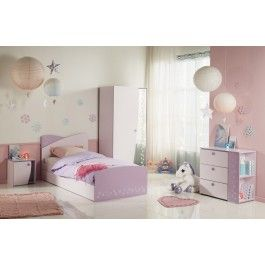 Parisot Cristal Bedroom Furniture Set