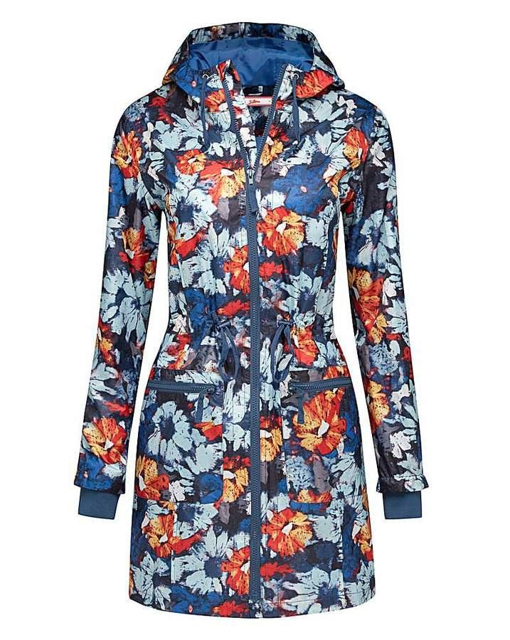 Pin for Later: Get Ready For April Showers and Festival Season With the Best Waterproof Jackets Joe Browns Floral Parka Style Mac Joe Browns Floral Parka Style Mac (£55)